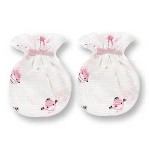 蝴蝶結護手套-2雙 兩色