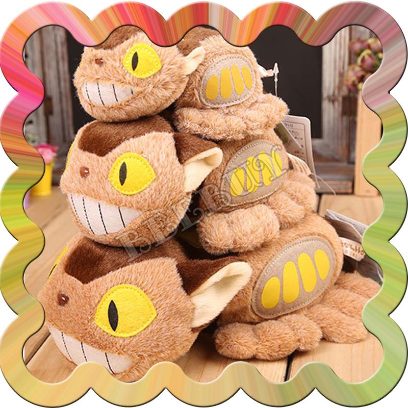 正版日貨 日本宮崎駿 龍貓公車 TOTORO 龍貓巴士 毛絨公仔 玩具玩偶 動漫 周邊 禮物