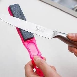 美麗大街【BF176E01】廚房小工具家用手持磨刀器 雙面粗細快速磨菜刀剪刀 磨刀石