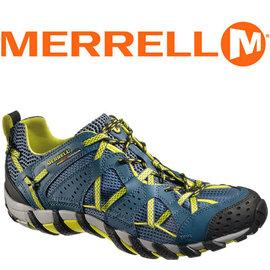MERRELL WATERPRO MAIPO 男 水陸兩棲鞋 深藍/黃 健行鞋│休閒鞋 41621