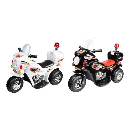 ★衛立兒生活館★Ching Ching親親- 皇家警察電動摩托車/兒童電動車(白色/黑色)