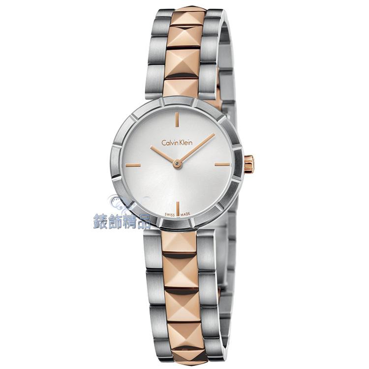 【錶飾精品】CK WATCH CK手錶 Calvin Klein edge邊緣系列女表 K5T33BZ6 全新原廠正品 生日 情人節 母親節 禮物 禮品