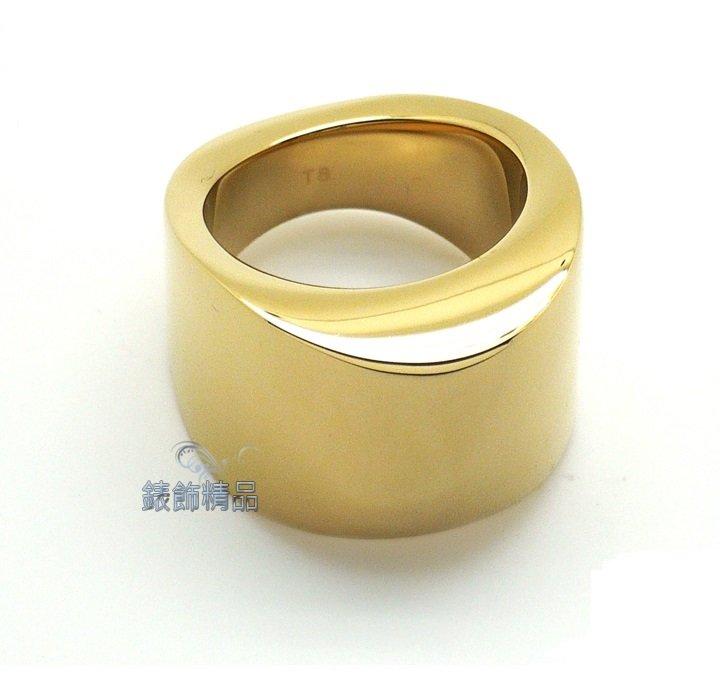【錶飾精品】Calvin Klein CK飾品 ck戒指 sensory系列-金色 316L白鋼 KJ79AR0201 全新原廠正品 情人生日禮物