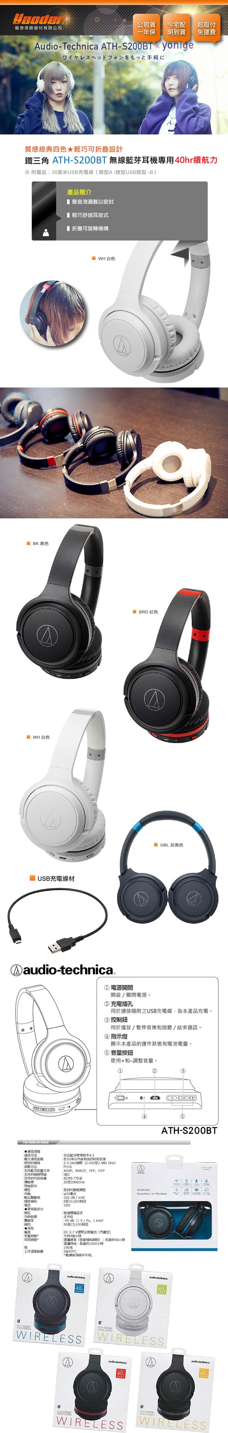 Ath S200bt Audio Technica S200 Bt Headphone On Ear Black Unable To Execute Javascript