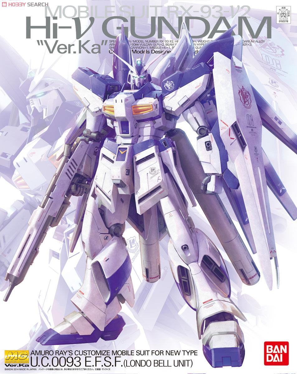 ◆時光殺手玩具館◆ 現貨 組裝模型 模型 鋼彈模型 BANDAI MG 1/100 機動戰士鋼彈 逆襲的夏亞 RX-93-v2/Hi-Nu鋼彈Ver.Ka