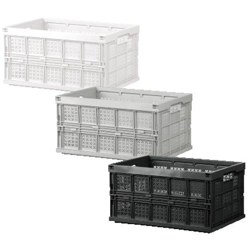 【樹德 SHUTER 整理盒】FB-5336 巧麗耐重折疊籃/菜籃/果園收納(顏色隨機出貨)
