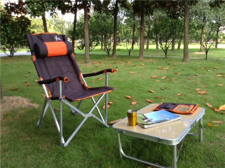 【露營趣】中和 TNR-115 日韓熱銷 鋁合金休閒椅 摺疊椅 大川椅 折疊椅 高背椅 野餐椅