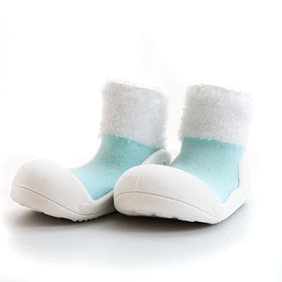 【悅兒樂婦幼用品?】韓國Attipas快樂腳襪型學步鞋-PM01-馬卡龍天空藍(L/XL)