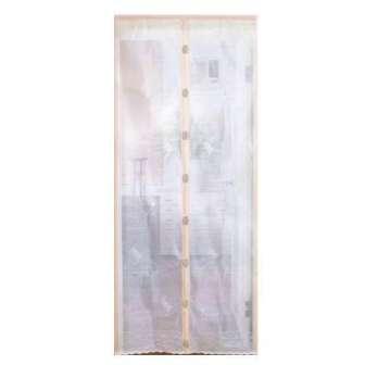 【珍昕】 生活大師 磁扣式防蚊門簾(90X210cm)/ 防蚊帳