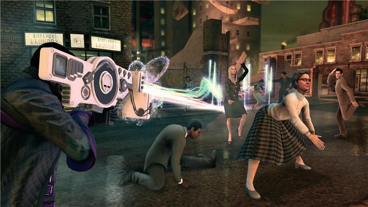 Switch 遊戲 黑街聖徒4 再次當選 黑道聖徒4 連任 英文版 gta風格好玩學英文