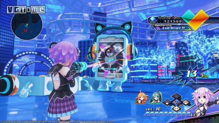 PS4 遊戲 海王星VVV戰機少女 中文 RPG