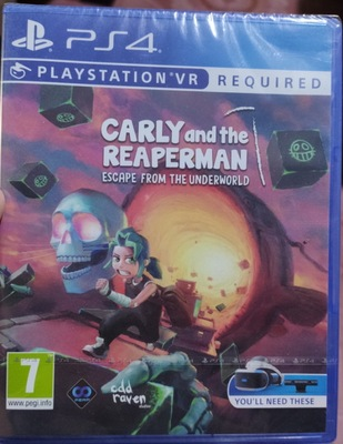 PS4 VR遊戲 卡莉和收魂者 Carly and the Reaperman 中英文