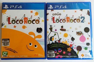 PS4遊戲 樂克樂克1 樂克樂克2 Loco Roco 1+2 中文英文