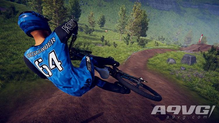 PS4遊戲 自行車下坡競速王者 速降王者 Descenders中文英文
