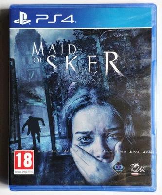 PS4遊戲 斯凱爾女士 斯蓋爾女僕 Maid of Sker 中文英文 恐怖