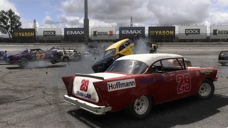 PS4遊戲 撞車嘉年華 Wreckfest 碰撞賽車橫衝直撞 中文英文