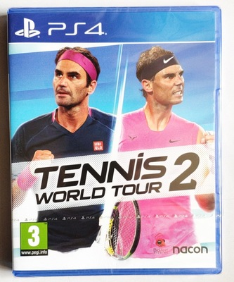 PS4遊戲 網球世界巡迴賽2 Tennis World Tour 2 英文中文