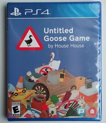 PS4 大鵝模擬器 無名鵝作劇愛搗蛋 Untitled Goose Game 中文英文