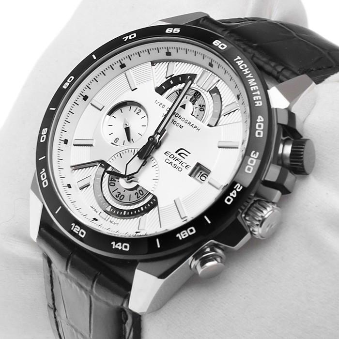 卡西歐正品機械錶皮帶男表三眼防水石英男表