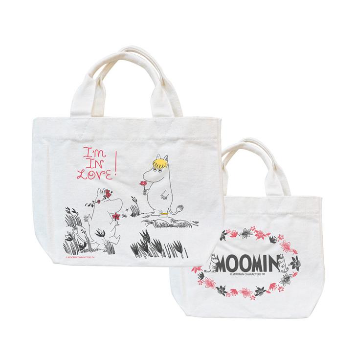 Moomin嚕嚕米正版授權 - 托特包:【 獻上我的愛 】
