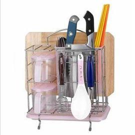 不鏽鋼刀架 廚房調味盒 筷子籠 砧板架