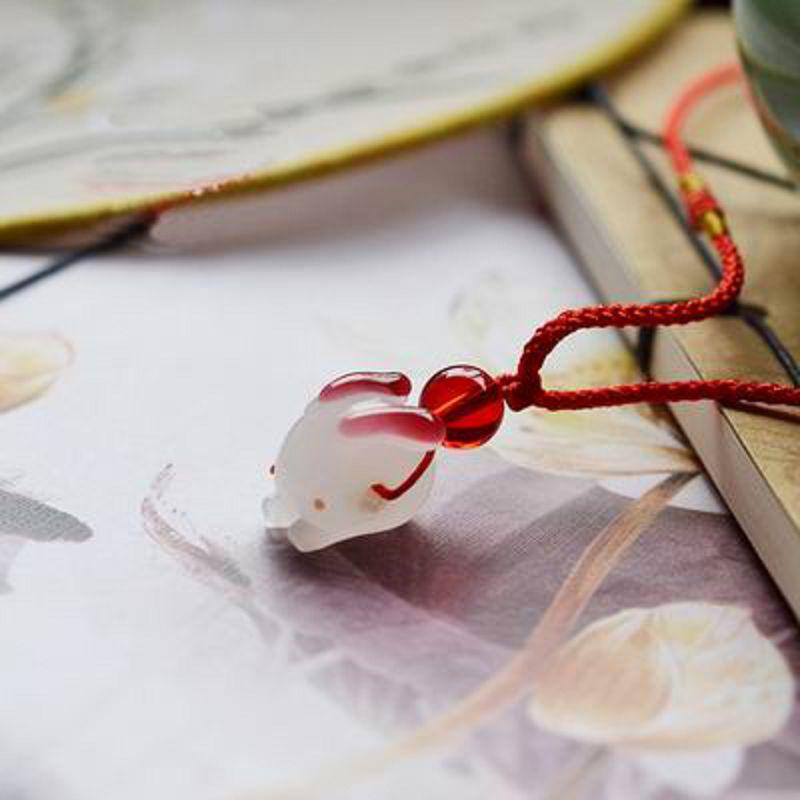 【項鏈掛繩-22-多款可選-1條/組】手工製作中國風小吊件項鍊掛件腰佩把件多款可選-30104
