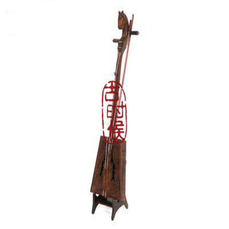 【樂器模型-馬頭琴-21.0*5.4*3.2cm-比例1:5-1款/組】高檔居家裝飾 蒙古民族 馬頭琴創意擺件 袖珍 迷你樂器 模型-38007