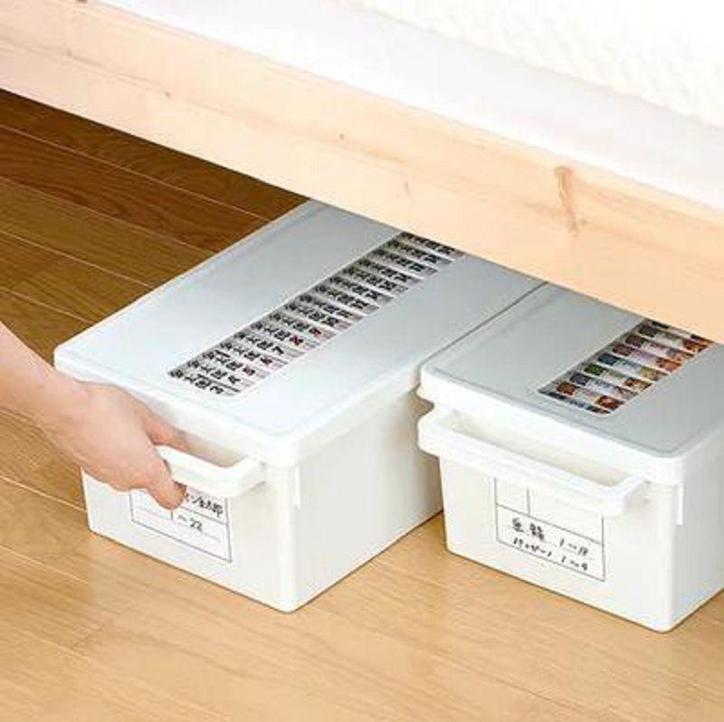 【光碟盒-PP-大號41.3*23.2*15.5cm-1個/組】碟片盒CD盒DVD收納整理箱創意大容量PS4盤收納盒-726004