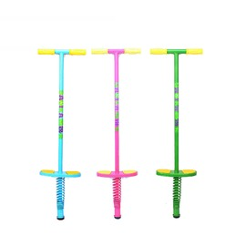 【兒童娃娃跳-鐵+海綿+彈簧-88*24*8cm-1套/組】娃娃跳 彈跳器踏跳杆運動戶外健身玩具增高兒童少年男女款健身用品-56003