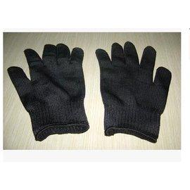 【防割全指手套-不銹鋼絲+滌綸-均碼-1雙/套-1套/組】具有超常的耐割 耐磨 防靜電和常規手套柔軟 易洗等特點-56045