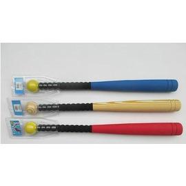 【EVA棒球棒-EVA塑膠-棒長61*直徑5cm-球直徑5.2cm-2件/套-2套/組】小學生練習使用兒童棒球棒泡棉棒軟式球棒親子-56005