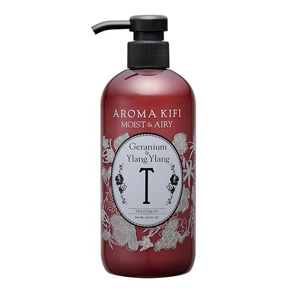 《日本製》AROMA KIFI 植粹輕盈護髮乳-伊蘭伊蘭香 500ml【無矽靈】