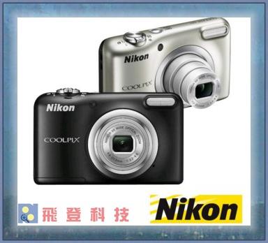 【NIKON】COOLPIX A10送16G,清潔組 (公司貨)
