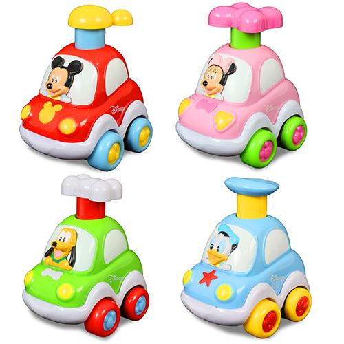 迪士尼嬰兒~迪士尼小跑車/共4款可選/ 米奇/ 米妮/ 唐老鴨/ 布魯托/ Disney Baby Press & Go cars / 伯寶行