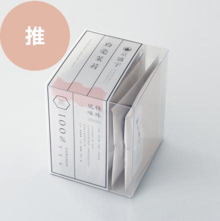 【100%台灣茶】京盛宇-特殊風味-白毫茉莉袋茶8入
