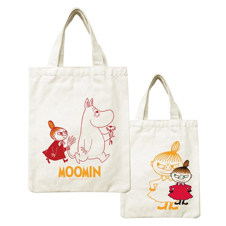 Moomin嚕嚕米正版授權 - 帆布包:【 跟屁蟲 】