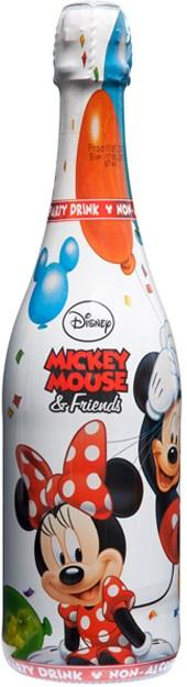 迪士尼米老鼠無酒精氣泡飲料(白葡萄) 750ml
