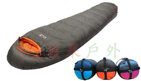 【【蘋果戶外】】吉諾佳 AS600L 『送睡袋內套』超輕保暖型羽絨睡袋 絨重600g 僅1000g 耐寒-12~-5度 Lirosa