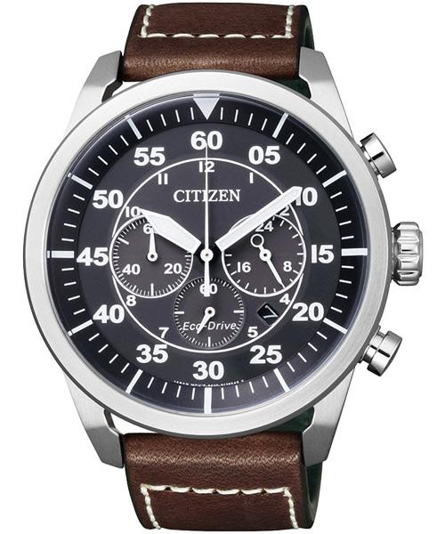 citizen星辰CA4210-16E西部牛仔光動能計時碼錶/黑面45mm