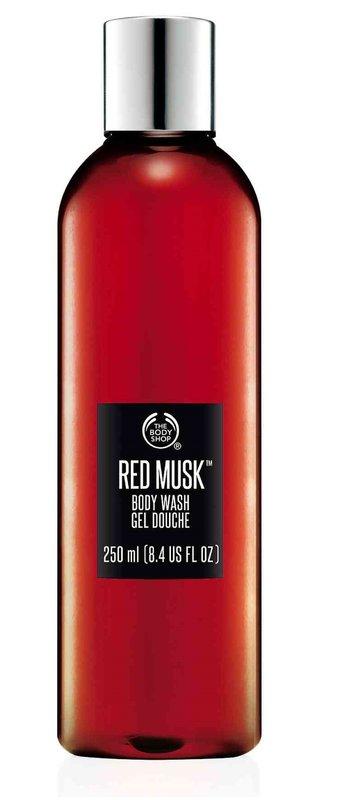【彤彤小舖】The Body Shop 紅麝香沐浴膠 8.4oz / 250ml 美國購入