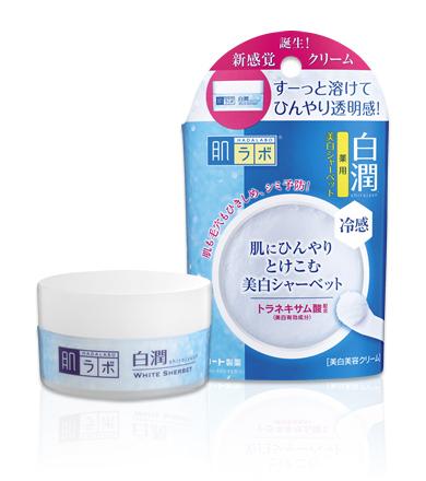 日本製肌研白潤冷感美白冰淨凝霜 30g
