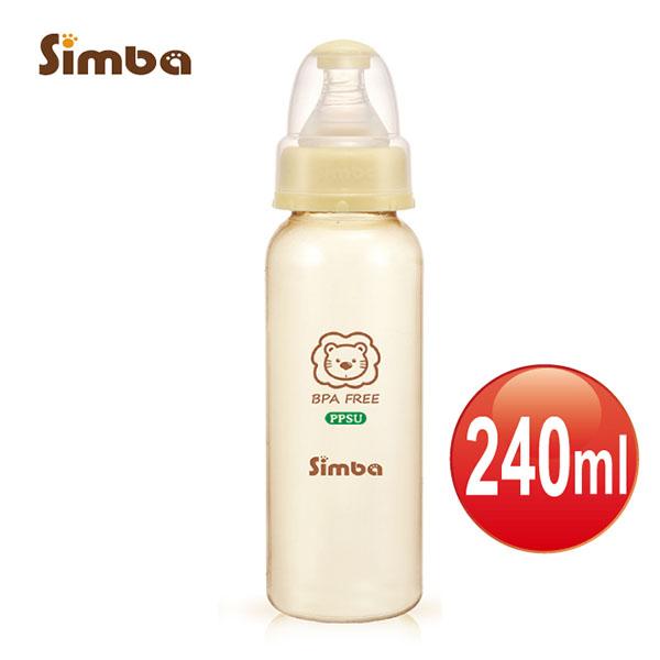 【捷思貝 親子寵物家居】小獅王辛巴 PPSU標準大奶瓶(240ml)