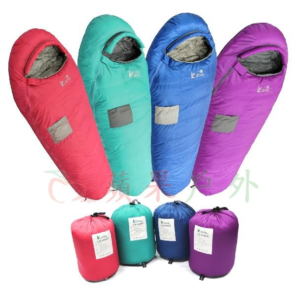 【【蘋果戶外】】吉諾佳 AU026 兒童羽絨睡袋 日規檢驗90DOWN 鴨絨 超輕型僅600克