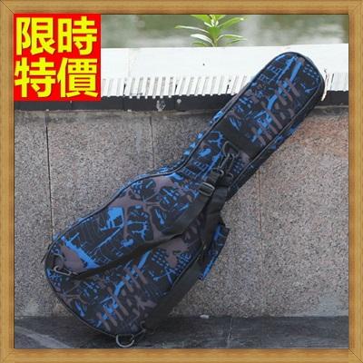 烏克麗麗包 ukulele琴包配件-23吋藍色閃電加厚海綿帆布手提背包保護袋琴袋琴套69y21【獨家進口】【米蘭精品】
