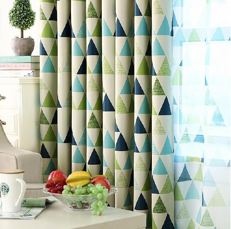 + 摩登三角遮光窗簾【寬130*高180cm】荷蘭設計簡約風格+