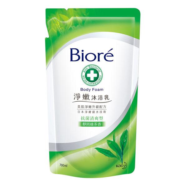 *優惠促銷*Biore淨嫩沐浴乳靜岡綠茶補充包《康是美》