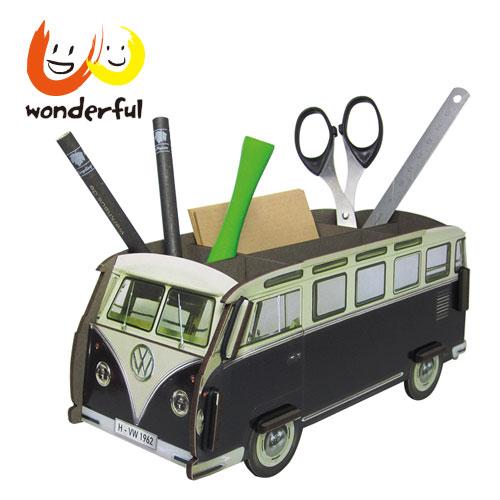 Werkhaus 福斯VW T1巴士筆座 (黑)