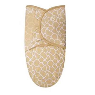 【悅兒樂婦幼用品?】美國Summer Infant 聰明懶人嬰幼兒睡袋包巾【純棉系列-長頸鹿寶寶】