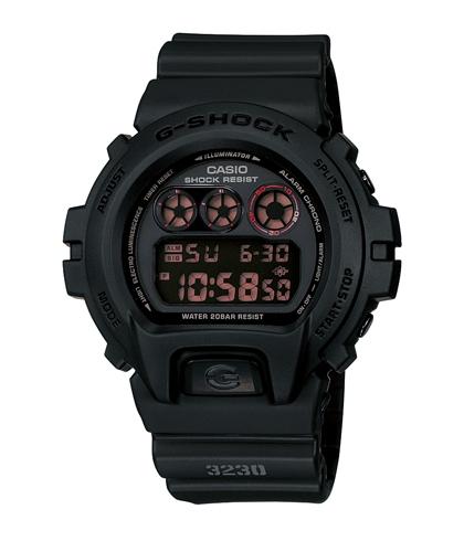 CASIO G-SHOCK DW-6900MS-1DR暗黑戰士數位流行腕錶/50mm