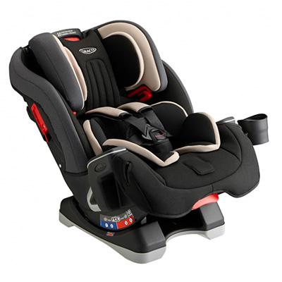 【悅兒樂婦幼用品?】GRACO MILESTONE? 長效型嬰幼童汽車安全座椅-灰
